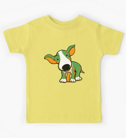 Irish Bull Terrier Puppy  Kids Tee