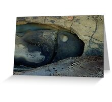 Lorne Rock Textures-378 Greeting Card