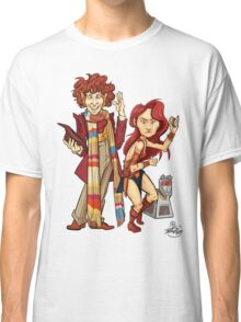 The Doctor, The Warrior, and K-9 Classic T-Shirt