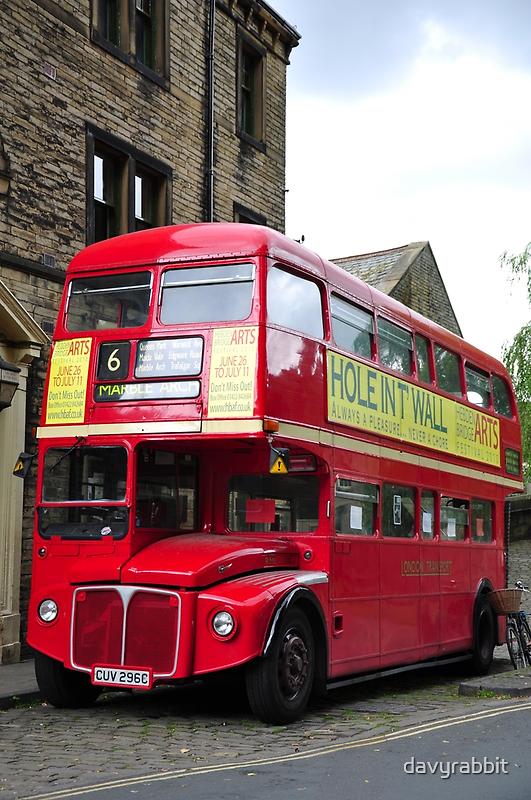 London Bus by davyrabbit