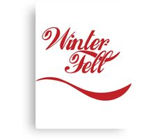 Winterfell Cola Canvas Print