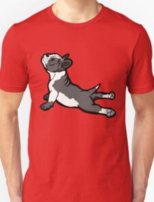 Boston Bull Terrier Puppy Black and White T-Shirt