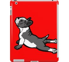 Boston Bull Terrier Puppy Black and White iPad Case/Skin