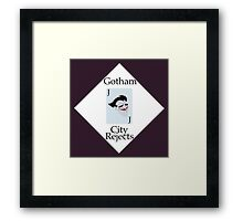 Gotham City Rejects Framed Print