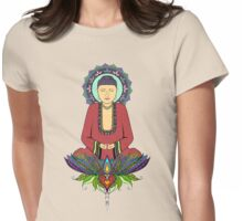 Electric Buddha Womens Fitted T-Shirt