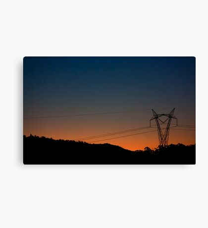 Urban Development Canvas Print