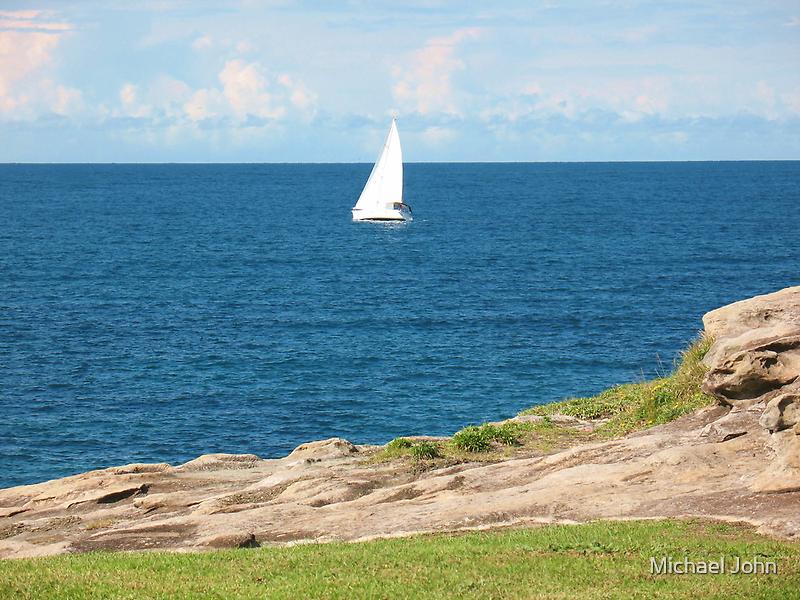 The White Yacht by Michael John