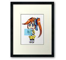 Athena and Widget Framed Print