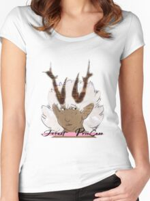 Aesvedn ~ Forest Princess Women's Fitted Scoop T-Shirt
