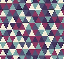 Retro geometric pattern in cold gamma by miroshina