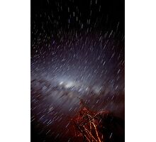 Star Trails  Photographic Print
