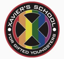 XAVIER'S SCHOOL Logo Kids Clothes