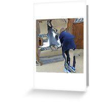 Magic Mirrors Greeting Card