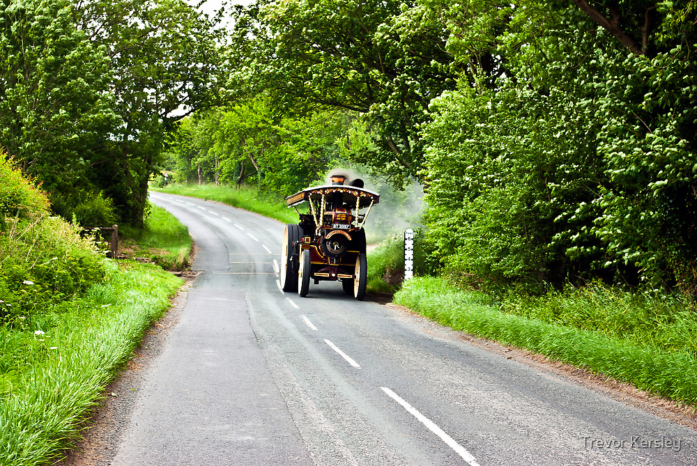Along The Country Road by Trevor Kersley