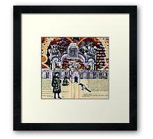 GATES OF MYSTERY Framed Print