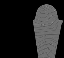 Metal Scaling Left Leg Leggings by KristalStittle