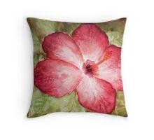 Pretty Hibiscus  Throw Pillow