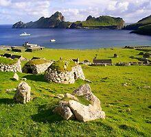 Village Bay, Hirta, St Kilda by Weychan