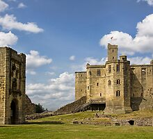 Warkworth Castle by Lynne Morris
