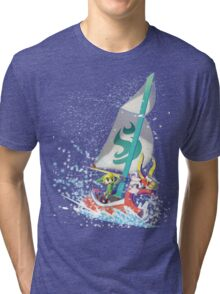 Voyaging ~ WindWaker Tri-blend T-Shirt