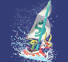 Voyaging ~ WindWaker Womens Fitted T-Shirt