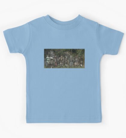 Cat Musicians Party Kids Tee