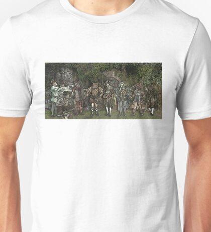 Cat Musicians Party Unisex T-Shirt