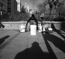 streetside. union square, manhattan, nyc by tim buckley   bodhiimages