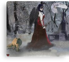 Cold Regrets (winter) Canvas Print