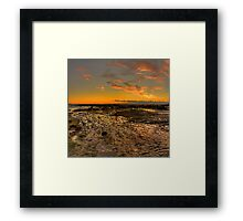 Rock Pool -Long Reef Aquatic Park, Sydney (30 Exposure HDR Panorama) - The HDR Experience Framed Print