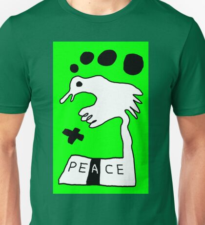 The Troubled Peace Dove Unisex T-Shirt