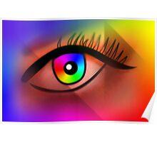 Beautiful eye Poster