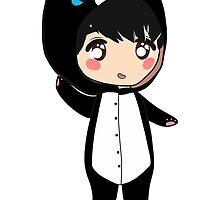 Chibi Osric - Black Cat Kigurumi by kittenkaty