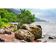 On the shores of Loch Ness - AGAIN Photographic Print