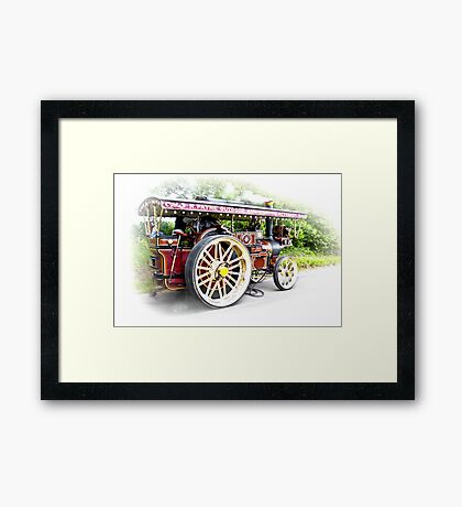 Steam Traction Engine #3 Framed Print