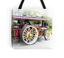 Steam Traction Engine #3 Tote Bag