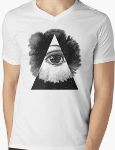 The Eye In The Sky Mens V-Neck T-Shirt