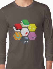 Nintendo Cubed Long Sleeve T-Shirt