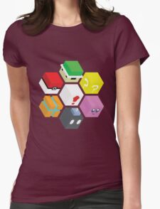 Nintendo Cubed Womens Fitted T-Shirt