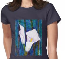 Callas lilies II Womens Fitted T-Shirt