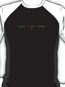 Unix Love T-Shirt
