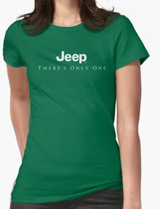 Jeep There's Only One Womens Fitted T-Shirt