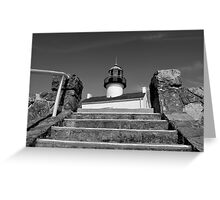 Old Point Loma Lighthouse, From The Stairwell Greeting Card