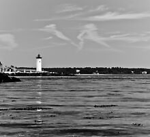 Lighthouse Newcastle NH 2 by Edward Myers