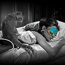 Holly and Cat - Breakfast at Tiffany's by Regan Hansen