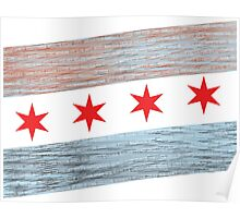 Windy City Flag Poster