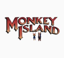 Monkey Island in Chains Kids Tee