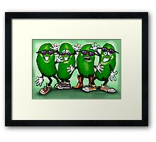 Pickle Party Framed Print