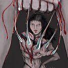 LADY DEATHSTRIKE !  by Ray Jackson