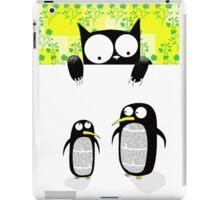 Paper Penguins  iPad Case/Skin